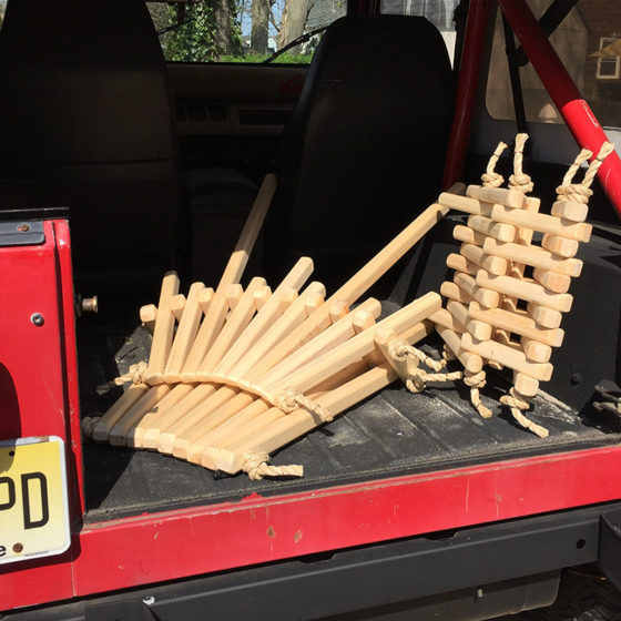 chair-and-table-in-back-of-car